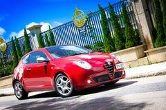 Alfa Romero MiTo Stock Photo