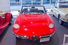 alfa samochodowy klasyczny młodzieżowy Romeo pająk Obraz Stock