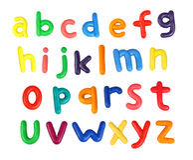 alfabet arkivfoton