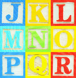 alfabet 2 Royaltyfri Fotografi