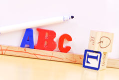 alfabet Royaltyfria Bilder