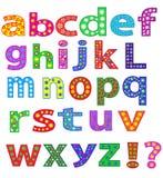 Alfabet. royalty-vrije illustratie