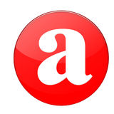 Alfabet a Stock Illustratie