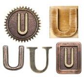 alfabet Obrazy Royalty Free