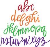 Alfabet Royalty-vrije Stock Foto's