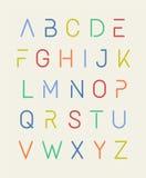 alfabet Obrazy Stock