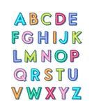 alfabet Zdjęcia Royalty Free