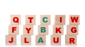 alfabet Royaltyfria Foton