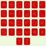 Alfabet 4 Στοκ Φωτογραφίες