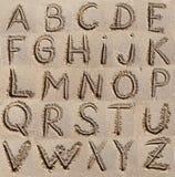 Alfabet (abc) Arkivbild
