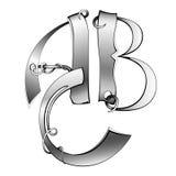 Alfabet abc stock afbeelding