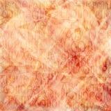 alfabet antique tło Obrazy Royalty Free