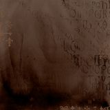 alfabet antique tło Zdjęcia Royalty Free