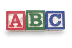 alfabet bloków Zdjęcie Stock