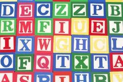 alfabet bloków Zdjęcie Royalty Free
