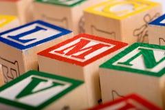 alfabet bloków Obraz Stock