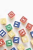 alfabet bloków zabawka Zdjęcie Royalty Free