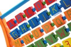 Alfabet för barn Arkivbilder