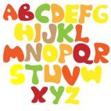 Alfabet för ungar Arkivbild