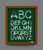 Alfabet. Getrokken hand. Vectoreps 10 Royalty-vrije Stock Afbeelding