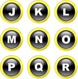 alfabet ikony Fotografia Stock