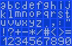 Alfabet, in kleine letters Royalty-vrije Stock Afbeeldingen