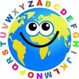 alfabet kulę Obrazy Stock