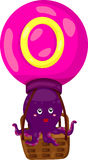 Alfabet O voor octopus Royalty-vrije Stock Afbeelding