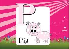 Alfabet-p Stock Fotografie
