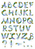 alfabet phoenix Royaltyfria Foton