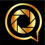Alfabet Q med ying och yang Royaltyfri Bild