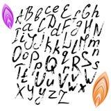 alfabet Stora och små bokstäver Royaltyfri Bild