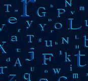alfabet tło Zdjęcia Stock