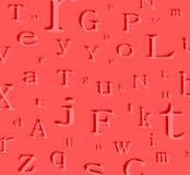 alfabet tło Obrazy Stock