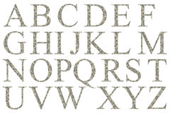 Alfabet van dollars Royalty-vrije Stock Fotografie