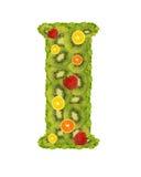Alfabet van fruit - I Royalty-vrije Stock Fotografie