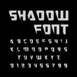 Alfabet vastgesteld ontwerp stock illustratie