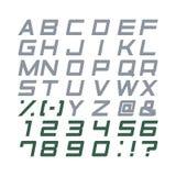 Alfabet vastgestelde vector Royalty-vrije Stock Afbeelding