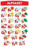 Alfabet voor jonge geitjes vector illustratie