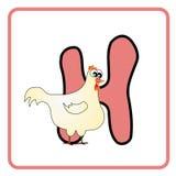 Alfabet voor kinderen vector illustratie