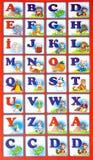 Alfabet A-Z Royalty-vrije Stock Foto's