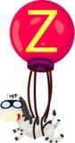 Alfabet Z voor zebra Royalty-vrije Stock Afbeeldingen