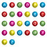 alfabetbauble Arkivfoton