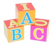 alfabetblock Royaltyfri Bild