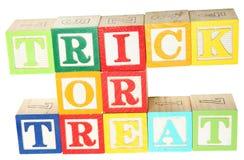 alfabetblock behandlar trick Royaltyfri Fotografi