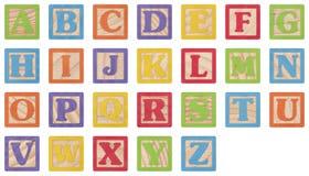 alfabetblock som lärer Royaltyfri Bild