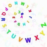 alfabetbokstäver vektor illustrationer