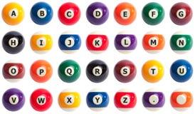 alfabetbollpöl Royaltyfria Foton