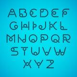 Alfabetbrieven Royalty-vrije Stock Afbeeldingen