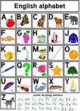 alfabetengelska royaltyfri illustrationer
